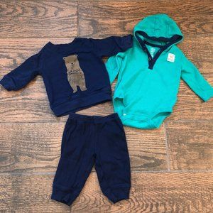 Carter's Boys Outfit 3M